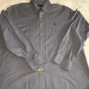 Men's Polo long-sleeved, button down